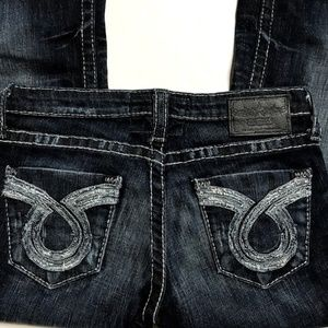 Big Star Jeans Boot Cut LIV Stretch Distressed